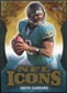 2009 Upper Deck Icons NFL Icons Die Cut #ICDG David Garrard /40