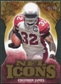 2009 Upper Deck Icons NFL Icons Die Cut #ICEJ Edgerrin James /40