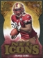 2009 Upper Deck Icons NFL Icons Die Cut #ICFG Frank Gore /40