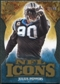 2009 Upper Deck Icons NFL Icons Die Cut #ICJP Julius Peppers /40