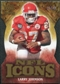2009 Upper Deck Icons NFL Icons Die Cut #ICLJ Larry Johnson /40