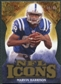 2009 Upper Deck Icons NFL Icons Die Cut #ICMH Marvin Harrison /40