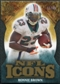 2009 Upper Deck Icons NFL Icons Die Cut #ICRR Ronnie Brown /40