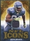 2009 Upper Deck Icons NFL Icons Jerseys #ICDB Deion Branch /299