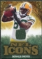 2009 Upper Deck Icons NFL Icons Jerseys #ICDD Donald Driver /299