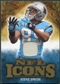 2009 Upper Deck Icons NFL Icons Jerseys #ICSS Steve Smith /299