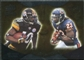 2009 Upper Deck Icons NFL Reflections Silver #RFHH Devin Hester Santonio Holmes /450