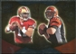 2009 Upper Deck Icons NFL Reflections Silver #RFSP Alex Smith Carson Palmer /450