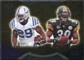 2009 Upper Deck Icons NFL Reflections Gold #RFAP Joseph Addai Willie Parker /199