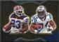 2009 Upper Deck Icons NFL Reflections Gold #RFLW DeAngelo Williams Marshawn Lynch /199
