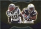 2009 Upper Deck Icons NFL Reflections Gold #RFMS Darren Sproles Laurence Maroney /199