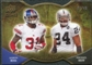 2009 Upper Deck Icons NFL Reflections Die Cut #RFRH Aaron Ross Michael Huff /40