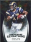 2009 Upper Deck Icons Sophomore Sensations Silver #SSDA Donnie Avery /450