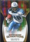 2009 Upper Deck Icons Sophomore Sensations Gold #SSCJ Chris Johnson /130