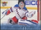 2009/10 Fleer Ultra Ice Medallion #97 Henrik Lundqvist /100