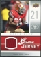 2009 Upper Deck Game Jersey #GJFG Frank Gore