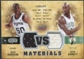 2009/10 Upper Deck VS Dual Materials #VSGR David Robinson Kevin Garnett /570