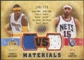 2009/10 Upper Deck VS Dual Materials Bronze #VSCA Carmelo Anthony Vince Carter /150