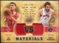 2009/10 Upper Deck VS Dual Materials Bronze #VSYA Andrea Bargnani Yao Ming /150