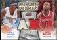 2009/10 Upper Deck Game Materials Dual Gold #DGAT Carmelo Anthony Tracy McGrady /150