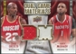 2009/10 Upper Deck Game Materials Dual Gold #DGCT Clyde Drexler Tracy McGrady /150
