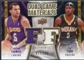 2009/10 Upper Deck Game Materials Dual Gold #DGFF Jordan Farmar T.J. Ford /150