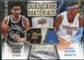 2009/10 Upper Deck Game Materials Dual Gold #DGGA Carmelo Anthony George Gervin /150