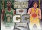 2009/10 Upper Deck Game Materials Dual Gold #DGGG Kevin Garnett Pau Gasol /150
