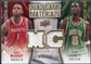 2009/10 Upper Deck Game Materials Dual Gold #DGGM Kevin Garnett Tracy McGrady /150
