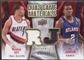 2009/10 Upper Deck Game Materials Dual Gold #DGJR Brandon Roy Joe Johnson /150