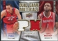 2009/10 Upper Deck Game Materials Dual Gold #DGMP Tayshaun Prince Tracy McGrady /150