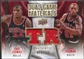 2009/10 Upper Deck Game Materials Dual Gold #DGRT Dennis Rodman Tyrus Thomas /150