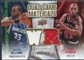 2009/10 Upper Deck Game Materials Dual Gold #DGRW Dennis Rodman Shelden Williams /150