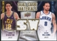 2009/10 Upper Deck Game Materials Dual Gold #DGSW Deron Williams John Stockton /150