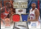 2009/10 Upper Deck Game Materials Dual Gold #DGWO Emeka Okafor Rasheed Wallace /150