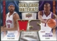 2009/10 Upper Deck Game Materials Dual Gold #DGWS Amare Stoudemire Rasheed Wallace /150