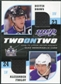 2009/10 Upper Deck MVP Two on Two Jerseys JMCFB Dustin BrownAlexander FrolovJonathan CheechooPatrick Ma