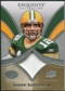 2009 Upper Deck Exquisite Collection Patch #PAR Aaron Rodgers /75