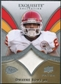 2009 Upper Deck Exquisite Collection Patch #PBO Dwayne Bowe /75