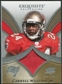 2009 Upper Deck Exquisite Collection Patch #PCW Cadillac Williams /75