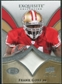 2009 Upper Deck Exquisite Collection Patch #PFG Frank Gore /75