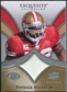 2009 Upper Deck Exquisite Collection Patch #PPW Patrick Willis /75