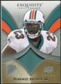 2009 Upper Deck Exquisite Collection Patch #PRB Ronnie Brown /75