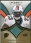 2009 Upper Deck Exquisite Collection Patch Gold #PRB Ronnie Brown /40