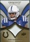 2009 Upper Deck Exquisite Collection Patch Gold #PSA Bob Sanders /40