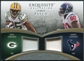 2009 Upper Deck Exquisite Collection Patch Combos #JJ Andre Johnson Greg Jennings /50