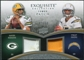2009 Upper Deck Exquisite Collection Patch Combos #RR Aaron Rodgers Philip Rivers 42/50