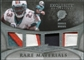 2009 Upper Deck Exquisite Collection Rare Materials #4RB Ronnie Brown /35