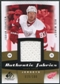 2010/11 Upper Deck SP Game Used Authentic Fabrics Gold #AFFR Johan Franzen /100