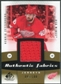2010/11 Upper Deck SP Game Used Authentic Fabrics Gold #AFHZ Henrik Zetterberg /100